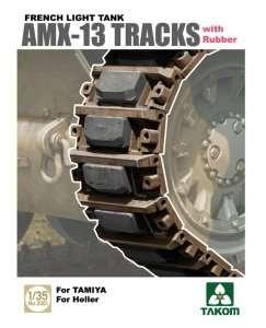 Takom 2061 AMX-13 Tracks with Rubber