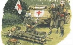 Dragon 6074 German Medical Troops