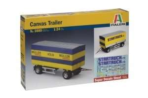 Italeri 3880 Canvas Trailer