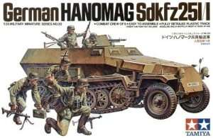 Tamiya 35020 transporter Hanomag Sd.Kfz. 251/1