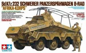 Tamiya 35297 German 8-Wheeled Heavy Armored Car Sd.Kfz.232.