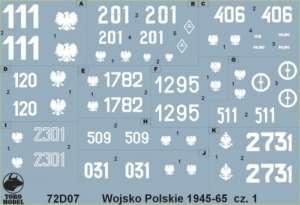 Polish Army 1945-65 vol.1 72D07