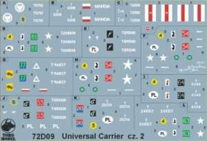 Universal Carrier in Polish service vol.2 72D09