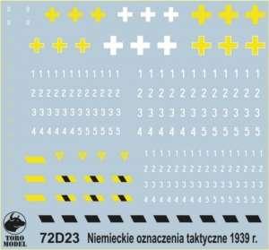 German tactical markings September 1939