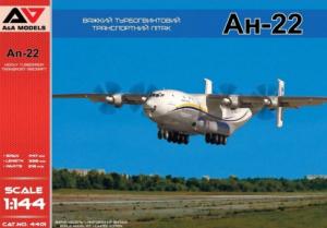 A&A Models 4401 Samolot Antonov AN-22 model 1-144