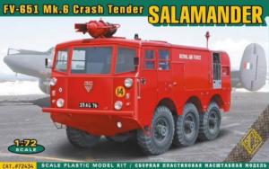 ACE 72434 Ciężarówka FV-651 Mk.6 Salamander wóz strażacki