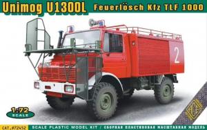 ACE 72452 Ciężarówka Unimog U1300L wóz strażacki