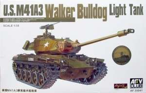 US M41A3 Walker Bulldog model AFV 35041 in 1-35