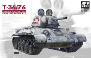 T-34/76 1942/43 Factory 183 Full Interior Kit AFV 35144 in 1-35