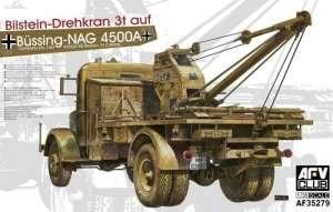 German Kfz.100 L4500A w/Bilstein 3T crane in scale 1-35