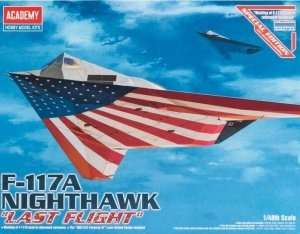 F-117A Nighthawk Last Flight in scale 1-48