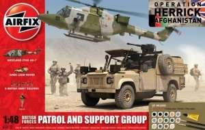 Airfix 50123 Zestaw - British Forces Patrol and Support Group