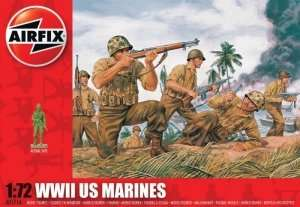 WWII US Marines in scale 1-72 - Airfix A01716