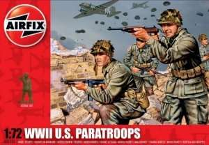 WWII U.S. Paratroops in scale 1-72 - Airfix A01751