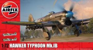 Hawker Typhoon Mk.IB model Airfix A02041A in 1-72