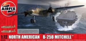 North American B-25B Mitchell model Airfix A06020 in 1-72