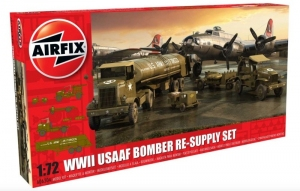 WWII USAAF 8th Bomber Resupply Set model Airfix A06304