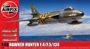 Hawker Hunter F.4 - F.5 - J34 model Airfix A09189