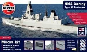 Modeling Kit - HMS Daring Type 45 Destroyer in scale 1-350