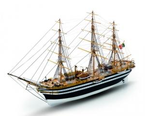 Amerigo Vespucci Mamoli MV57 drewniany model statku 1-150