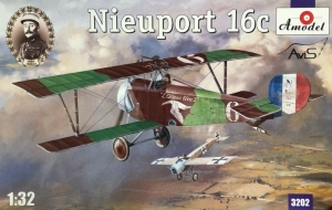 Nieuport 16c model Amodel 3202 in 1-32