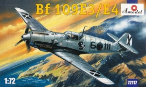 Messerschmitt Bf 109E3/E4 model Amodel 72117 in 1-72