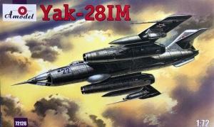 Yak-28IM model Amodel 72126 in 1-72