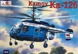 Kamov Ka-126 model Amodel 7272 in 1-72