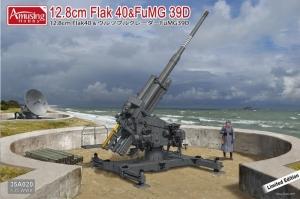 12.8cm Flak 40&FuMG 39D model in 1-35