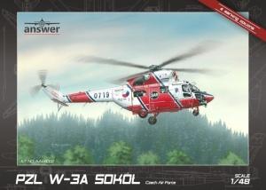 PZL W-3A Sokół Czech Air Force model Answer in 1-48