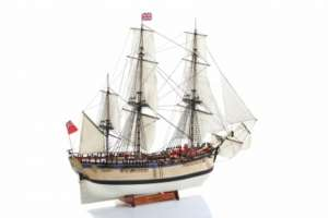 HMS Endeavour - wooden model BB514 in 1-50