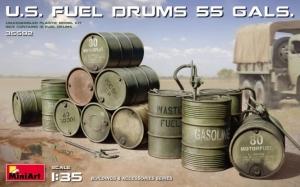 Model MiniArt 35592 U.S. Fuel Drums 55gals