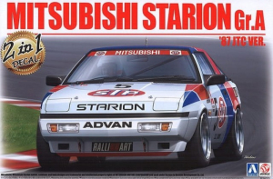 Mitsubishi Starion Gr.A model Beemax B24023 in 1-24
