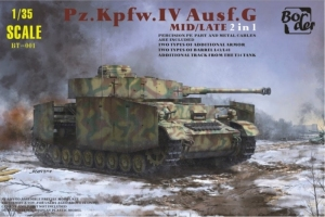 Pz.Kpfw.IV Ausf.G Mid/Late 2in1 model BT-001 in 1-35