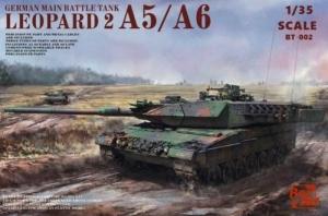 German Main Battle Tank Leopard 2 A5/A6 model Border BT-002