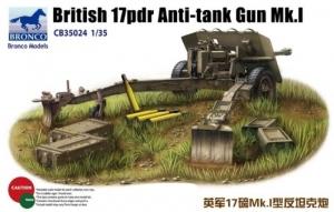 Bronco CB35024 Armata przeciwpancerna 17pdr Mk.I
