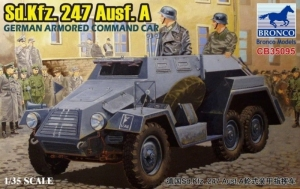 Sd.Kfz.247 Ausf.A German Armored Command Car scale 1-35
