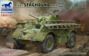 T17E1 Staghound Mk.I in scale 1-35