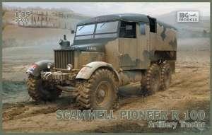 Scammell Pioneer R100 Artillery Tractor model IBG in 1-35