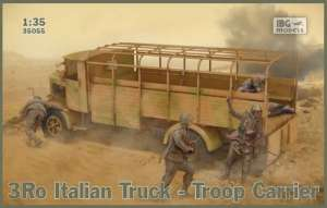 3Ro Italian Truck - Troop Carrier model IBG in 1-35