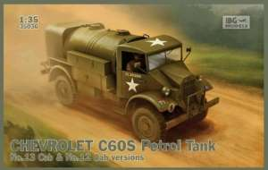 Chevrolet C60S Petrol Tank model IBG i 1-35
