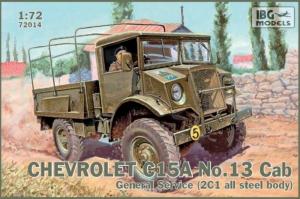 Ciężarówka wojskowa Chevrolet C15A nr 13 72014