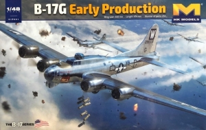 B-17G Flying Fortess Early Production model HK Models 01F001