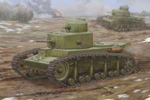 Soviet T-12 Medium Tank in scale 1-35
