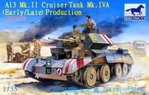 British A13 Mk.II Cruiser Tank Mk.IVA (Early/Late) Production