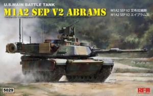 M1A2 SEP V2 Abrams model tank RFM RM-5029 in 1-35