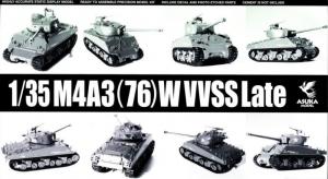 M4A3 (76) W VVSS Late Asuka Model 35-043 in 1-35