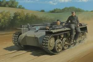 German Pz.Kpfw.1 Ausf.A ohne Aufbau in 1:35