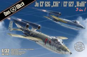 Das Werk DW32001 Samolot Ju EF-123 Elli / EF-127 Walli