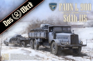 Faun L 900 inc. SdAh 115 model Das Werk in 1-35